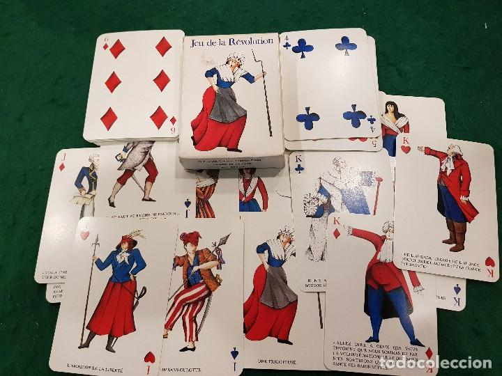 BARAJA POKER - JEU DE LA RÉVOLUTION - GRIMAUD (Juguetes y Juegos - Cartas y Naipes - Barajas de Póker)