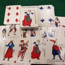 Barajas de cartas: BARAJA POKER - JEU DE LA RÉVOLUTION - GRIMAUD. Lote 208382890