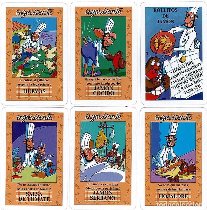 Barajas de cartas: EL JUEGO DEL RICO RICO-KARLOS ARGUIÑANO-ASEGARCE-MENÚ CON FUNDAMENTO- FOURNIER-NUEVO A DESPRECINTAR - Foto 3 - 138582464