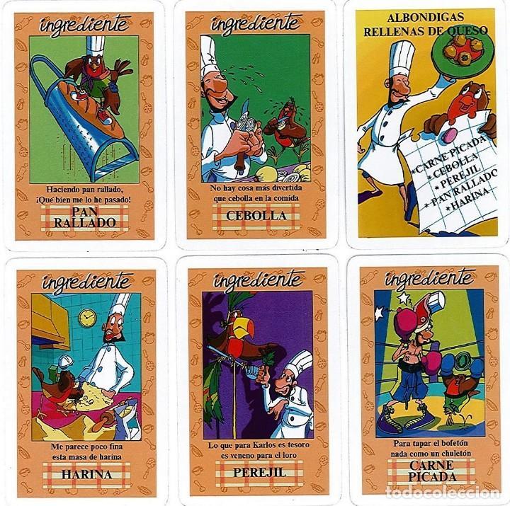 Barajas de cartas: EL JUEGO DEL RICO RICO-KARLOS ARGUIÑANO-ASEGARCE-MENÚ CON FUNDAMENTO- FOURNIER-NUEVO A DESPRECINTAR - Foto 5 - 138582464