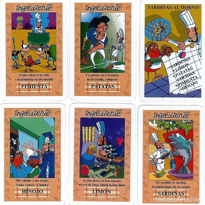 Barajas de cartas: EL JUEGO DEL RICO RICO-KARLOS ARGUIÑANO-ASEGARCE-MENÚ CON FUNDAMENTO- FOURNIER-NUEVO A DESPRECINTAR - Foto 8 - 138582464