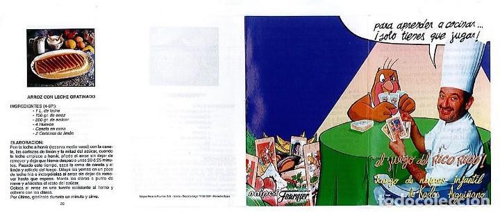Barajas de cartas: EL JUEGO DEL RICO RICO-KARLOS ARGUIÑANO-ASEGARCE-MENÚ CON FUNDAMENTO- FOURNIER-NUEVO A DESPRECINTAR - Foto 16 - 138582464