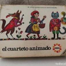 Barajas de cartas: BARAJA CARTAS INFANTIL EL CUARTETO ANIMADO DE EDUCA. Lote 116162319