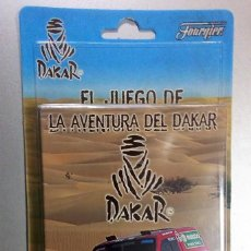 Barajas de cartas: EL JUEGO DE LA AVENTURA DEL DAKAR-FOURNIER 2 MAZOS DE BARAJAS DE 50 CARTAS*EN AFRICA*. Lote 160194810