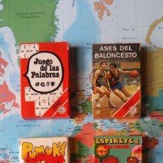 Barajas de cartas: JUEGO DE 4 BARAJAS DE CARTAS INFANTIL: HERACLIO FOURNIER, AÑOS 80. Lote 116422856