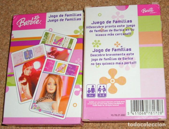 BARBIE - BARAJA DE CARTAS SIN USO - PERFECTA - JUEGO DE FAMILIAS (Juguetes y Juegos - Cartas y Naipes - Otras Barajas)