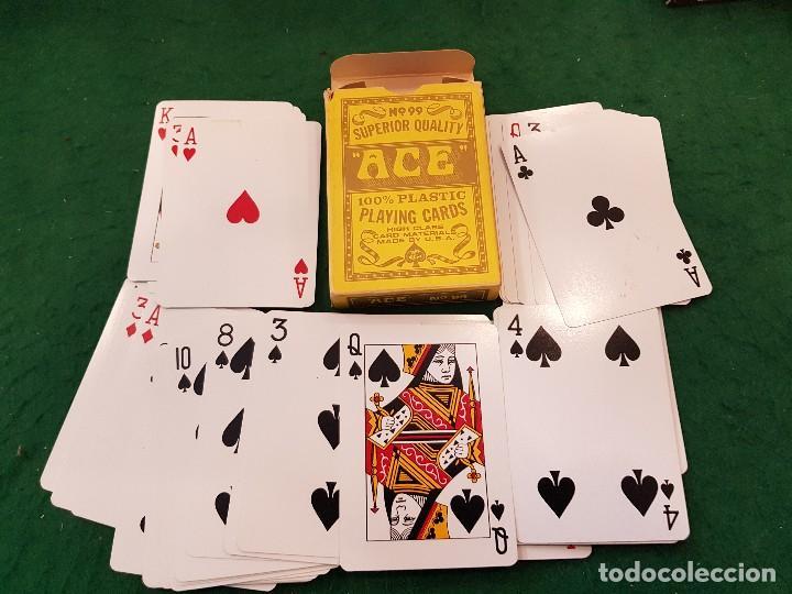 BARAJA POKER ACE - MADE IN USA (Juguetes y Juegos - Cartas y Naipes - Barajas de Póker)