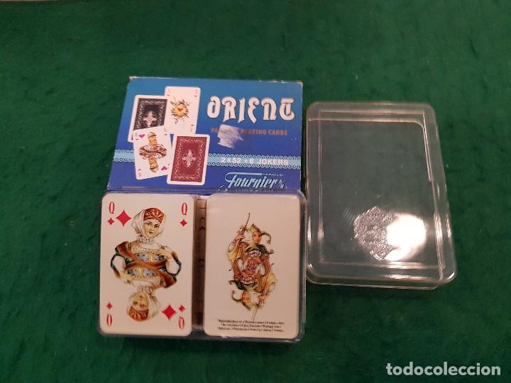 BARAJA NAIPES SOLITARIOS MINI ORIENT 2 X 52 + 6 JOKERS - HERACLIO FOURNIER (Juguetes y Juegos - Cartas y Naipes - Barajas de Póker)