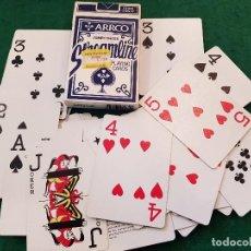 Barajas de cartas: BARAJA POKER JUMBO INDEX STREAMLINE - ARRCO. Lote 116475607