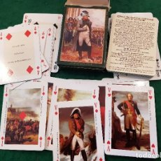Barajas de cartas: BARAJA JEU NAPOLEON 1ER - EDITIONS DUSSERRE. Lote 116477107