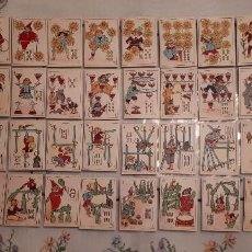 Barajas de cartas: BARAJA FANTASIA DEL FUTBOL AÑOS 20 COMPLETA 48 CARTAS CON VITELA ORIGINAL SIN ESTRENAR. Lote 116507679