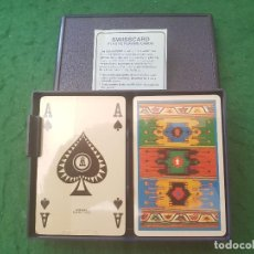 Barajas de cartas: BARAJA POKER DOBLE SWISSCARD (PRECINTADA). Lote 116587127
