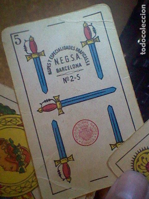 Barajas de cartas: baraja samso Barcelona completa sobada leer - Foto 8 - 116705875