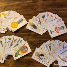 Barajas de cartas: RARISIMA BARAJA DE CARTAS ARTISTAS DE CINE COMESTIBLES FINOS FRANCISCO PLANAS COMPLETA. Lote 116786667