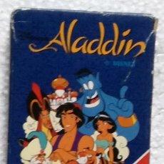 Barajas de cartas: BARAJA INFANTIL ALADDIN, DISNEY - HERACLIO FOURNIER. Lote 116798071