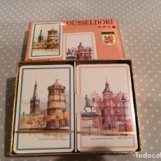 Barajas de cartas: DOBLE BARAJA DE CARTAS DUSSELDORF PIATNIK - MAZOS PRECINTADOS. Lote 116951487