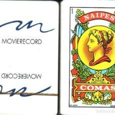 Barajas de cartas: MOVIERECORD - BARAJA ESPAÑOLA 40 CARTAS. Lote 116952863