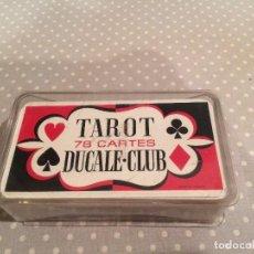 Barajas de cartas: BARAJA TAROT DUCALE CLUB - GRIMAUD. Lote 116958735