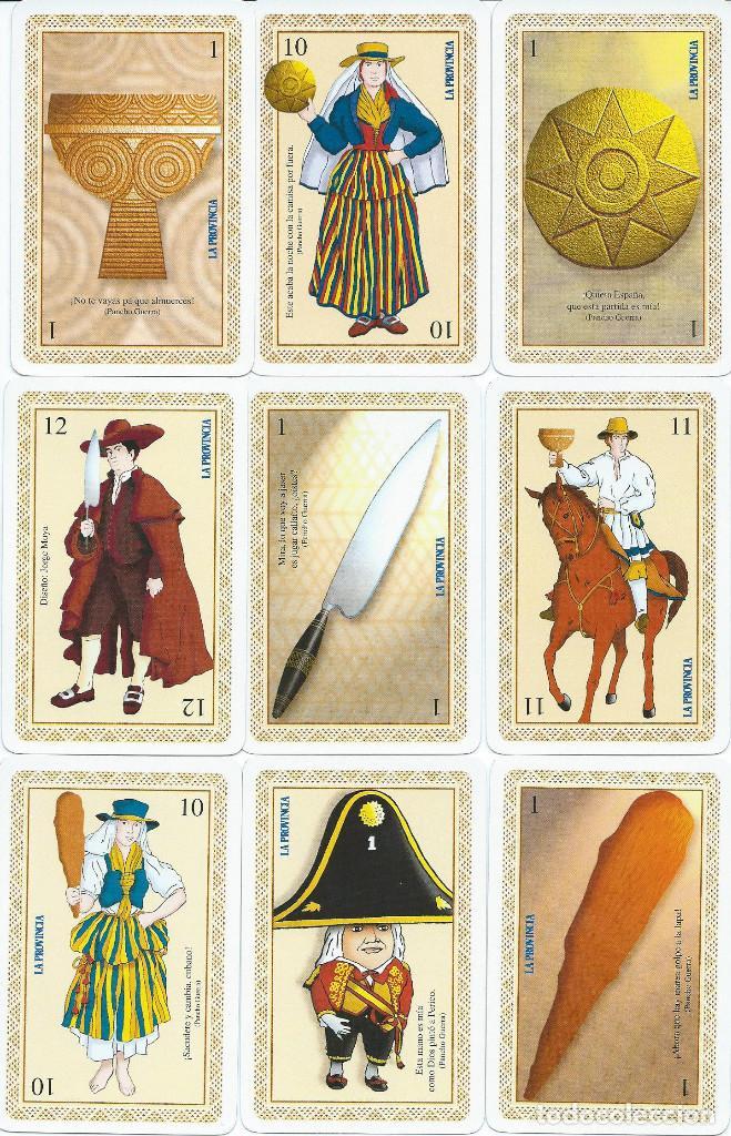 BARAJA ESPAÑOLA CANARIA LA PROVINCIA-AÑO 1996 (Juguetes y Juegos - Cartas y Naipes - Baraja Española)