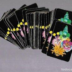 Barajas de cartas: BARAJA DE CARTAS. POKER. REVERSO MASCARAS DE CARNAVAL. COMPLETA. VER FOTOS. Lote 117193859