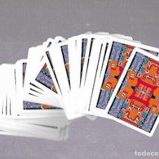 Barajas de cartas: BARAJA DE CARTAS. POKER. REVERSO E ILUSTRACIONES INDIAS. COMPLETA. NUEVA. VER FOTOS. Lote 117194047