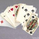 Barajas de cartas: BARAJA DE CARTAS. VIUDA DE SALVOCHEA. MUY BUEN ESTADO. VER FOTOS. COMPLETA. Lote 117263911