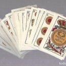 Barajas de cartas: BARAJA DE CARTAS. ESPAÑOLA. NAIPES FINOS LA FLOR DE CADIZ. BARCELONA. COMPLETA. MUY BUEN ESTADO. VER. Lote 117264519