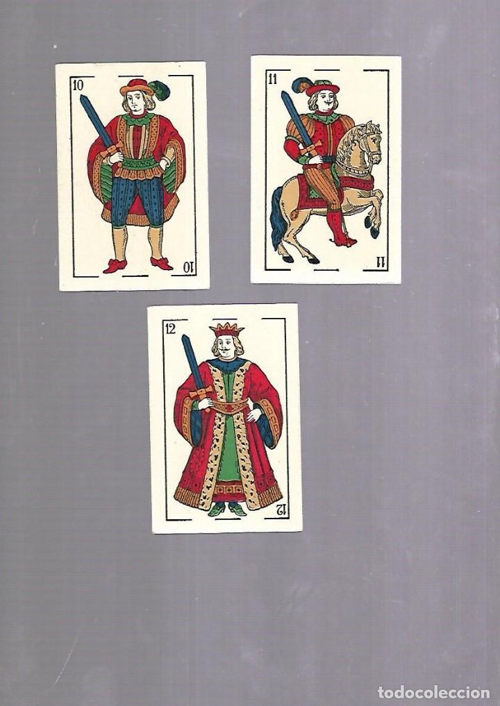 Barajas de cartas: BARAJA DE CARTAS. ESPAÑOLA. NAIPES FINOS LA FLOR DE CADIZ. BARCELONA. COMPLETA. MUY BUEN ESTADO. VER - Foto 7 - 117264519