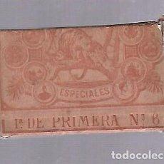 Barajas de cartas: BARAJA DE CARTAS. MANUEL ANICETO GONZALEZ. LOS DOS TIGRES. 1905. CADIZ. SIN ABRIR. VER. Lote 117264691