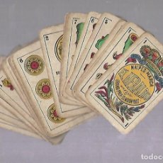 Barajas de cartas: BARAJA DE CARTAS. EL HERALDO DE SEGUNDO OLEA, CADIZ. FALTA EL 5 DE COPAS. VER. Lote 117269579