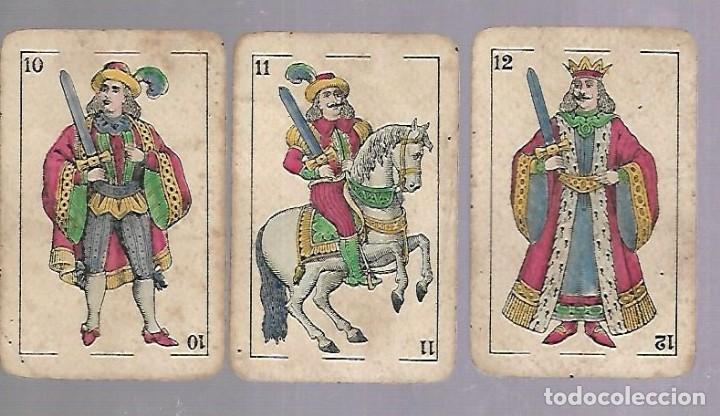 Barajas de cartas: BARAJA DE CARTAS. EL HERALDO DE SEGUNDO OLEA, CADIZ. FALTA EL 5 DE COPAS. VER - Foto 7 - 117269579
