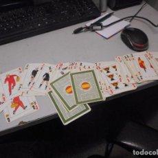 Barajas de cartas: BARAJA CARTAS MUNDIAL FUTBOL 82 ESPAÑA CASTANYER. Lote 117338539