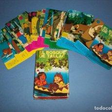 Jeux de cartes: BARAJA EL BOSQUE DE TALLAC COMPLETA FOURNIER. Lote 117348715