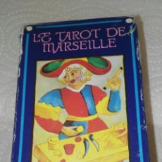 Barajas de cartas: CARTAS TAROT DE MARSEILLE. Lote 117400459