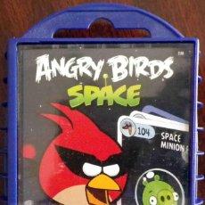 Barajas de cartas: ANGRY BIRDS SPACE - JUEGO DE CARTAS EN ESTUCHE RÍGIDO - TRADING CARDS PRECINTADO.. Lote 117567215