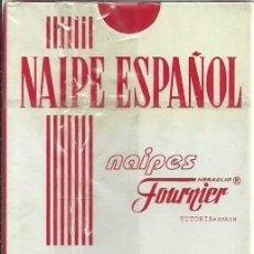 Barajas de cartas: BARAJA DE CARTAS NAIPE ESPAÑOL - NAIPES FOURNIER VITORIA - 40 CARTAS CON PRECINTO. Lote 117814831