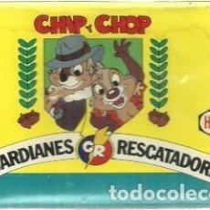Barajas de cartas: BARAJA DE CARTAS INFANTIL CHIP & CHOP 33 CARTAS CON PRECINTO. Lote 117815343