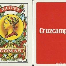 Barajas de cartas: CRUZCAMPO - CERVEZA - BARAJA ESPAÑOLA 40 CARTAS. Lote 117816891