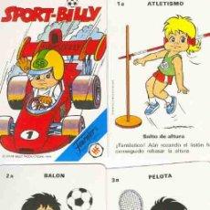 Barajas de cartas: BARAJA INFANTIL SPORT BILLY. Lote 147556301