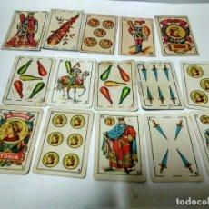 Baralhos de cartas: LOTE DE PEQUEÑAS CARTAS DE BARAJA CON PUBLICIDAD EN EL REVERSO. Lote 117837967