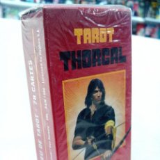 Barajas de cartas: JEU DE TAROT THORGAL - 78 CARTES (EDITIONS LE DIOURIS ). Lote 117926535