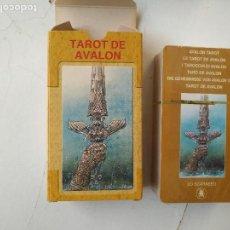 Barajas de cartas: PRECINTADA SIN UTILIZAR - BARAJA CARTAS DEL TAROT - LOS SCARABEO TAROT DE AVALON. Lote 118093407