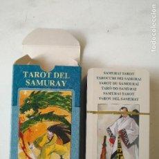 Barajas de cartas: PRECINTADA SIN UTILIZAR - BARAJA CARTAS DEL TAROT - LOS SCARABEO TAROT DEL SAMURAY. Lote 118093651