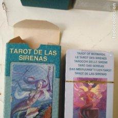 Barajas de cartas: PRECINTADA SIN UTILIZAR - BARAJA CARTAS DEL TAROT - LOS SCARABEO TAROT DE LAS SIRENAS. Lote 118094019