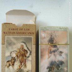 Baralhos de cartas: PRECINTADA SIN UTILIZAR - BARAJA CARTAS DEL TAROT - LOS SCARABEO TAROT DE LOS NATIVOS AMERICANOS. Lote 118094263