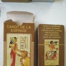 Barajas de cartas: PRECINTADA SIN UTILIZAR - BARAJA CARTAS DEL TAROT - LOS SCARABEO TAROT DE LA ESFINGE. Lote 118094367