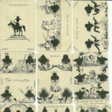 Barajas de cartas: ANTIGUA BARAJA DE TRANSFORMACION - ISLAS BRITANICAS SIGLO XIX (1860)- CERTIFICADO COLECCION FOURNIER. Lote 118097631