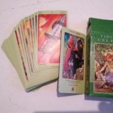 Barajas de cartas: ABIERTA PERO SIN UTILIZAR - BARAJA CARTAS DEL TAROT - LOS SCARABEO TAROT CELTA. Lote 118100987