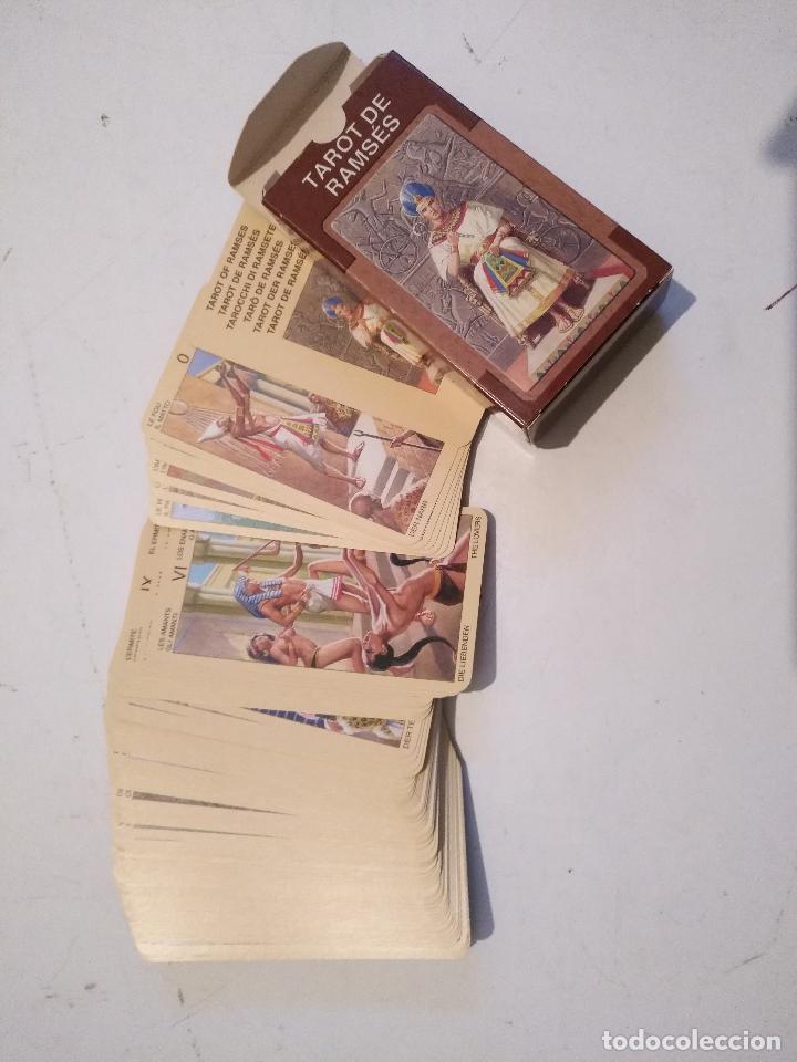 ABIERTA PERO SIN UTILIZAR - BARAJA CARTAS DEL TAROT - LOS SCARABEO TAROT RAMSES (Juguetes y Juegos - Cartas y Naipes - Barajas Tarot)