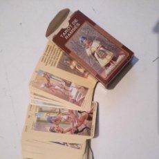 Barajas de cartas: ABIERTA PERO SIN UTILIZAR - BARAJA CARTAS DEL TAROT - LOS SCARABEO TAROT RAMSES. Lote 118101043